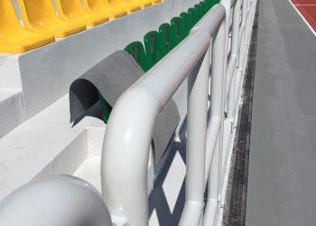 Balustrada-AWF,Warszawa,-PPA571ES-RAL-7035